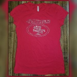 🏈 SF 49ers T-Shirt for Juniors / Women